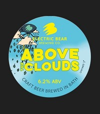 Electric Bear Above Clouds